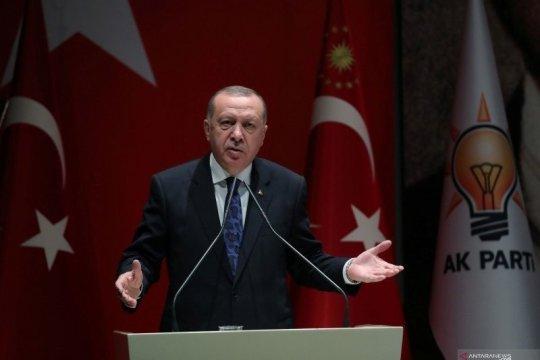 Erdogan akan membalas jika Yunani serang kapal Turki di Mediterania