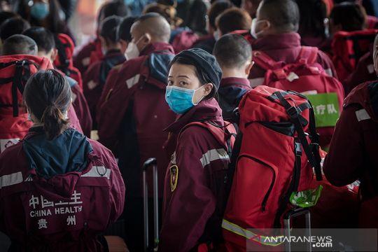 Tim bantuan medis mulai meninggalkan Wuhan