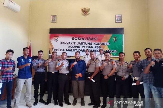 Polisi sosialisasi penanganan COVID-19 di Morotai