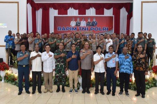 Kapolda pimpin rapimda TNI-Polri terkait pilkada 11 kabupaten di Papua