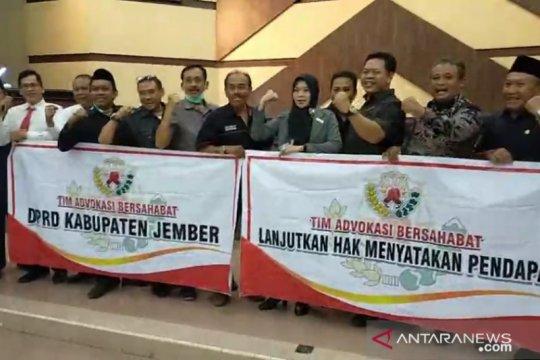 Semua fraksi DPRD Jember setuju gunakan hak menyatakan pendapat
