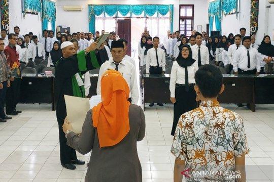 KPU Banjarmasin tunda pelantikan anggota PPS