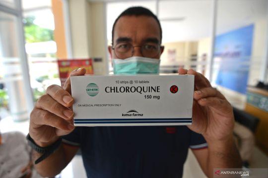 Kementerian BUMN serahkan 1.000 Chloroquine ke RSPI Sulianti Saroso