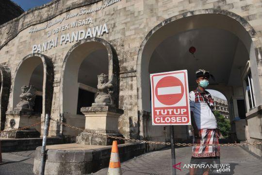 Waspada COVID-19, sejumlah objek wisata di Bali tutup sementara