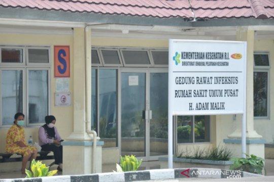 Kontak OTG, tujuh tenaga medis RSUP Adam Malik Medan positif COVID-19