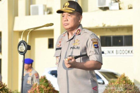 Polda Kalsel tingkatkan patroli pembubaran massa cegah Corona