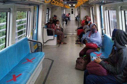 Jadwal perjalanan LRT Sumsel diubah antisipasi penyebaran COVID-19