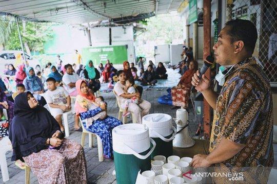 Kebutuhan pencegahan COVID-19 didistribusikan di kelurahan se-Surabaya