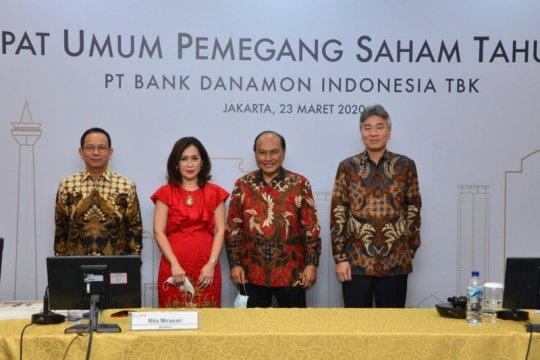 Bank Danamon bagikan dividen Rp145,87 per lembar saham