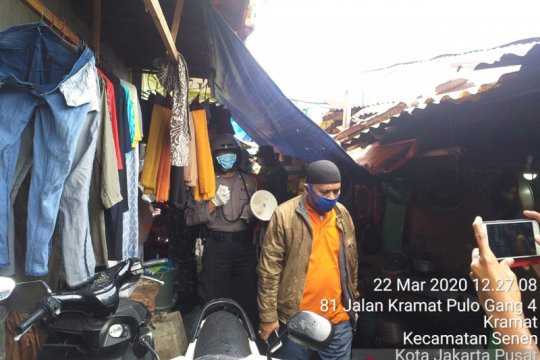 Laju kasus COVID-19 Kelurahan Kramat kembali tertinggi di Jakpus