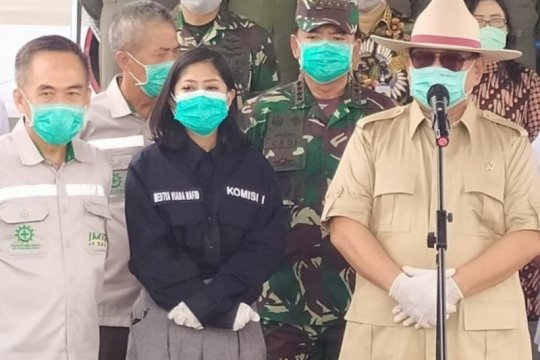 Komisi I DPR kawal Kemhan-TNI soal bantuan alat kesehatan Tiongkok