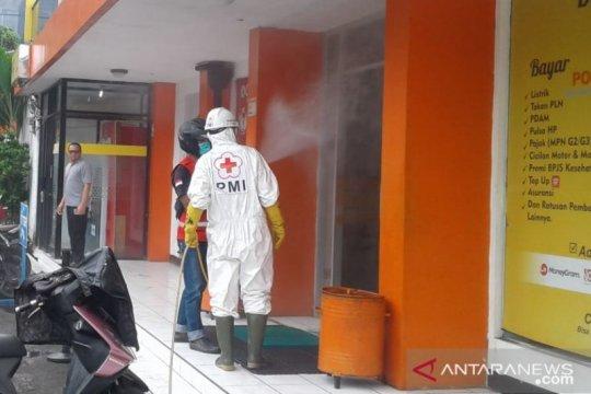 Sukabumi fokuskan penyemprotan disinfektan di pusat perekonomian