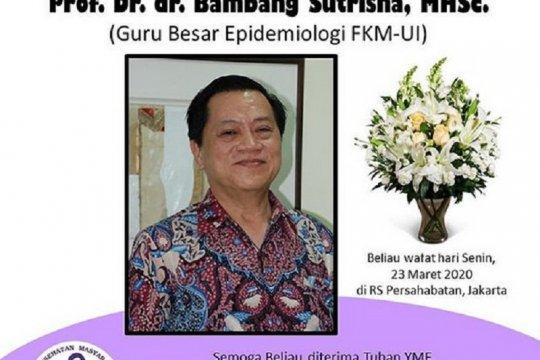 Guru besar epidemiologi meninggal dunia, UI tunggu hasil laboratorium