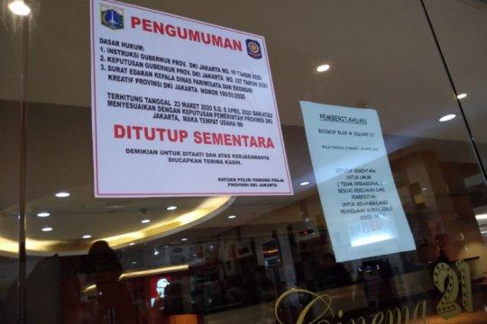 Pemkot Jakpus akan periksa kondisi bioskop jelang pembukaan