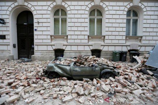 Gempa susulan getarkan ibu kota Kroasia