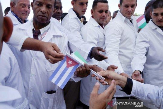 Bantuan medis China akhirnya tiba di Kuba di tengah sanksi AS