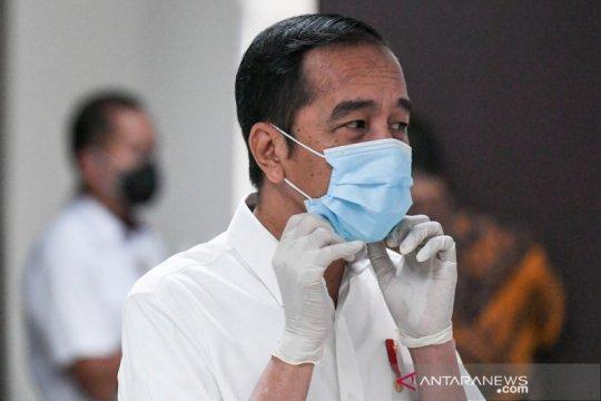 Presiden Jokowi jalani tes kesehatan termasuk swab
