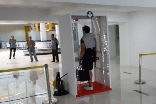 Bandara Jambi tambah fasilitas penyemprot disinfektan untuk penumpang