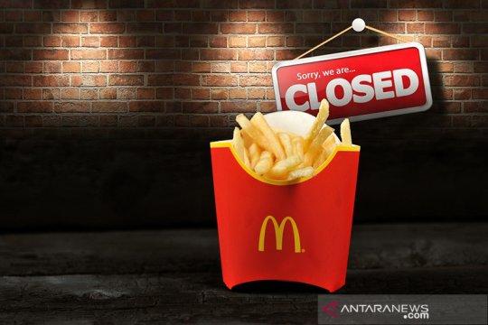 McDonald's Sarinah resmi tutup mulai 10 Mei