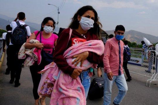 Bayi pengungsi suku Venezuela di Brazil positif COVID-19