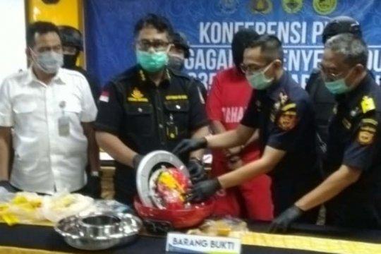 Pengiriman sabu-sabu 1,03 kg dari Malaysia digagalkan