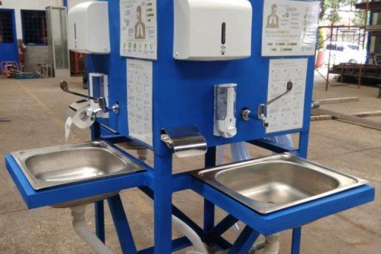 UI siapkan 'wastafel portable' untuk fasilitas publik cegah Covid-19