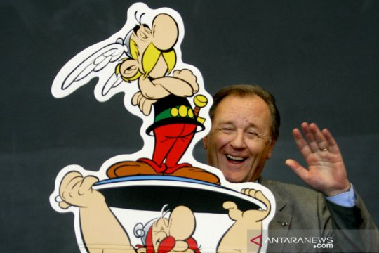 Ilustrator Asterix Obelix, Uderzo meninggal saat tidur di usia 92