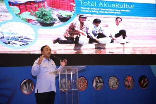 KKP tebar 2,7 juta benih ikan lokal awal 2020