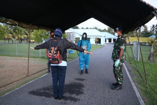 Pangkalan Udara TNI AU Pattimura sterilisasi jalur masuk base ops