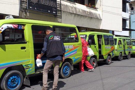 ACT-MRI Maluku lakukan disinfektan cegah COVID-19 di Kota Ambon