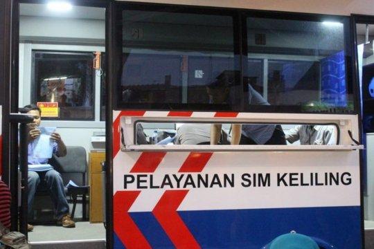 CFD belum berlangsung, SIM Keliling dilayani di Satpas Daan Mogot