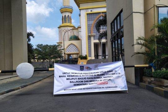 Cegah COVID-19, aktivitas di Islamic Center Mataram ditutup