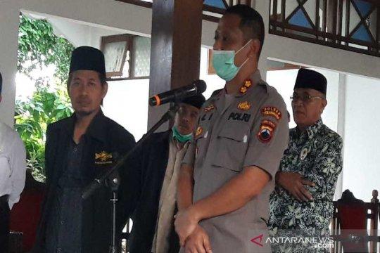 Polres Temanggung akan tindak tegas kerumunan antisipasi COVID-19