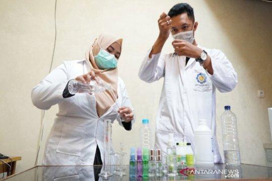 FMIPA Universitas Palangka Raya produksi 'hand sanitizer'