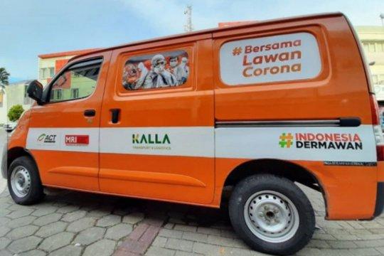 ACT Sulsel terima bantuan mobil dari Kalla untuk penanganan COVID-19