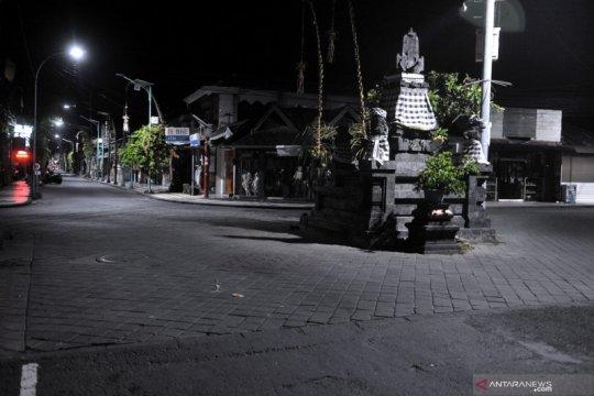 Suasana Bali jelang Nyepi
