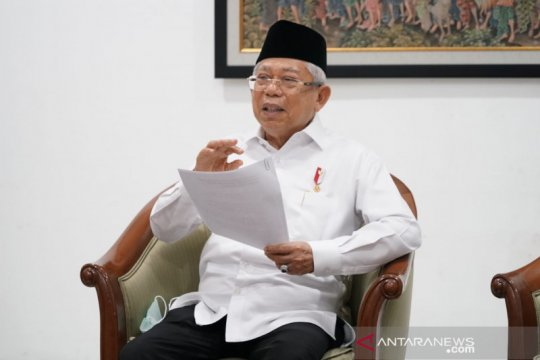 "Wapres Ma'ruf Amin: Spirit Nyepi sesuai dengan ""social distancing"""
