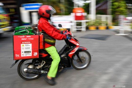 Layanan antar rumah Pertamina diminati di Medan