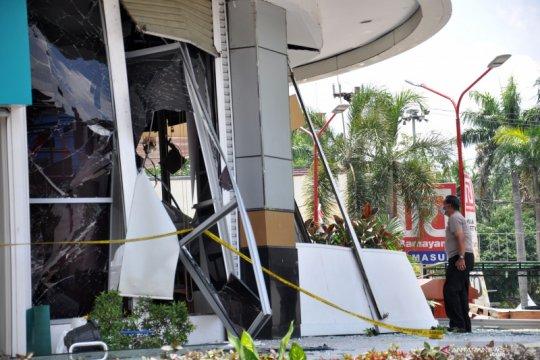 Ledakan di Plaza Ramayana Medan karena tabung gas
