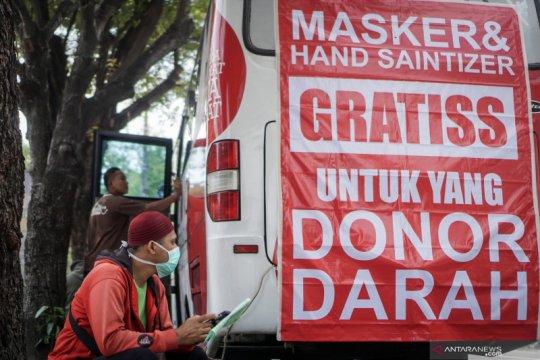 Stok darah PMI Jakarta Barat tipis akibat COVID-19