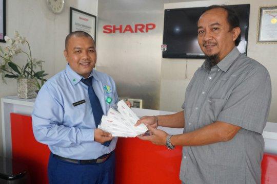 Sharp Indonesia donasi masker N-95 untuk tenaga medis di Jakarta