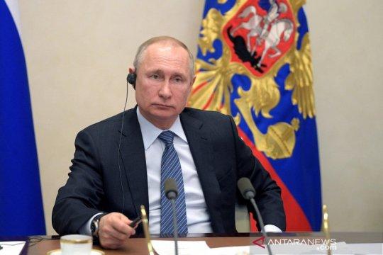 Putin sebut Rusia tangani virus corona lebih baik daripada AS