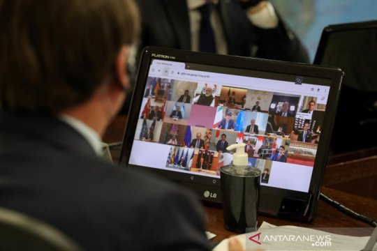 RI rekomendasikan lima konsep tangani COVID-19 di KTT Luar Biasa G20