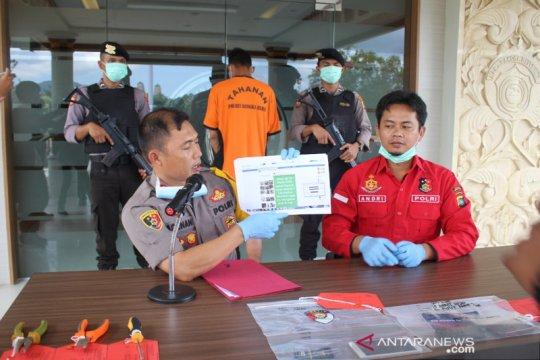 Polisi Bangka Barat tangkap penyebar hoaks terkait corona