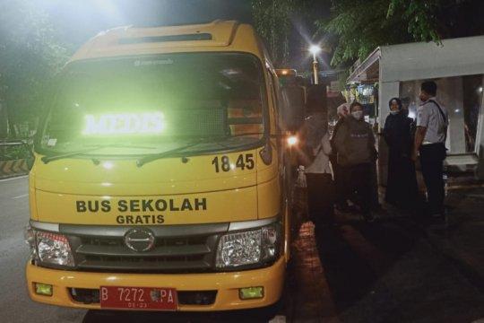 DKI siagakan 50 bus antar-jemput tenaga medis COVID-19