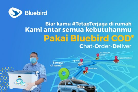 Bluebird hadirkan program COD