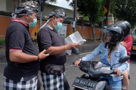 Imbauan tidak keluar rumah di Bali
