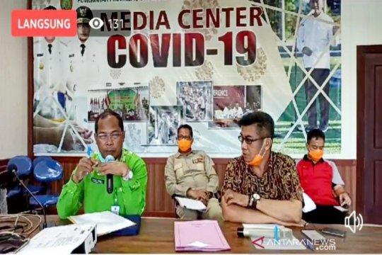 Kasus positif COVID-19 di Kalteng bertambah menjadi lima