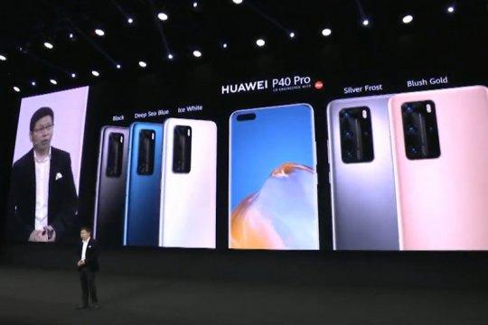 Huawei luncurkan tiga seri P40, tanpa Google