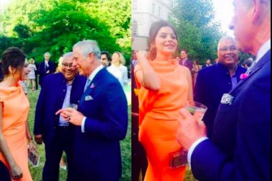 Foto Pangeran Charles & Kanika Kapoor viral, keduanya positif corona